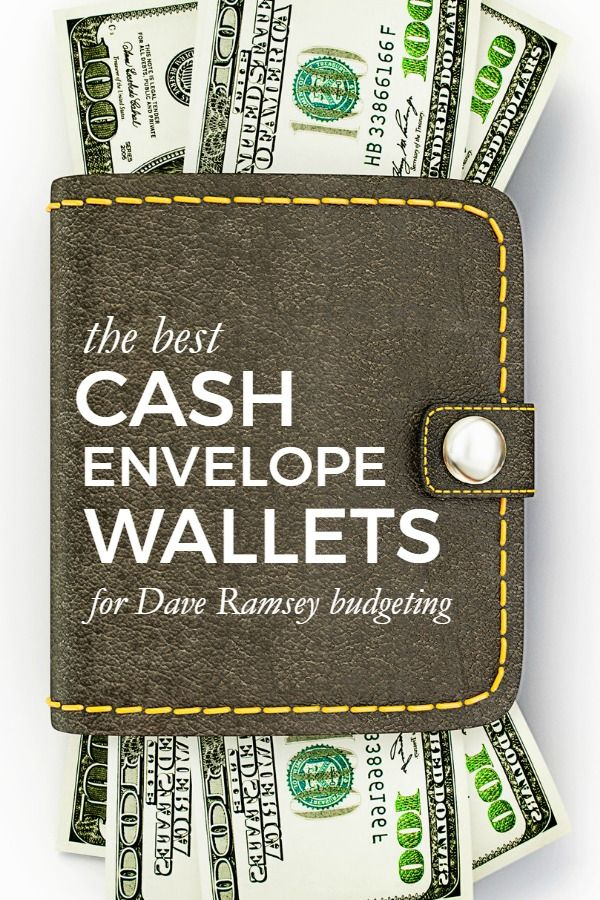 The Best Cash Envelope Wallet Systems -- Use this list to pick out a wallet system to use with your cash envelopes. Perfect for any Dave Ramsey fan!