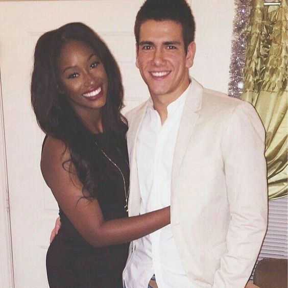 White man dating black girl