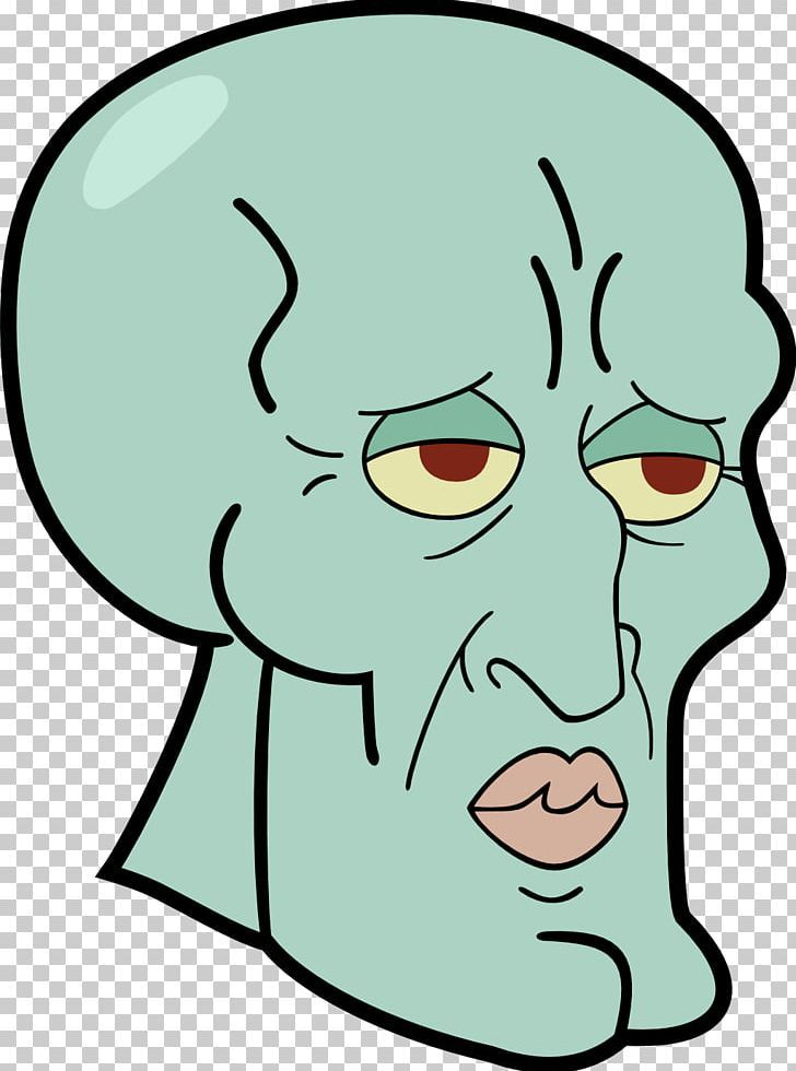 Squidward Tentacles Patrick Star Drawing Png Area Art Artwork