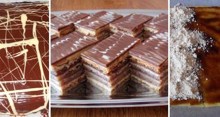 Skvělý, tradiční koláček - Žerbo řezy. Ořechové koláče jsou prostě top!
