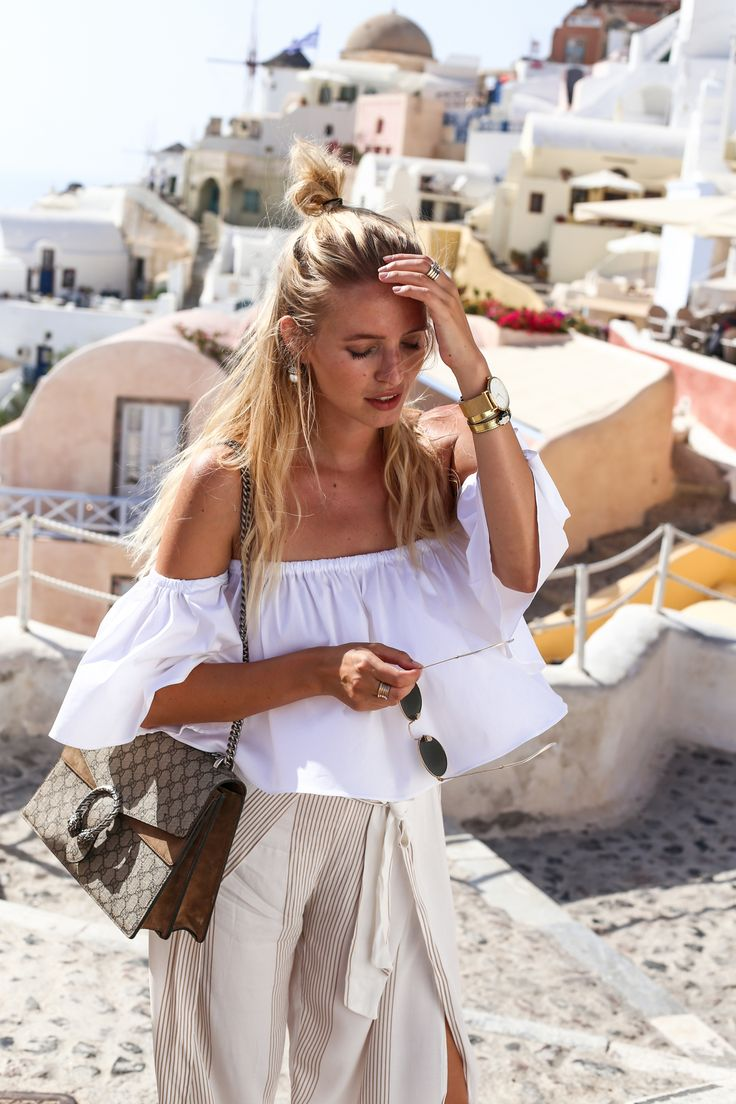 PRETTY IN PASTEL // easy summer style #pastel #offshoulder
