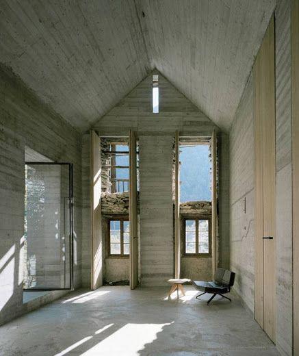 Casa d'estate, Linescio, Switzerland by Buchner Bründler Architekten