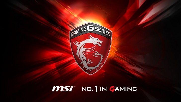 Download MSi Gaming G Series Dragon Logo Background