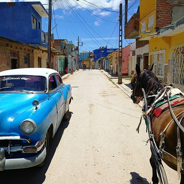 """#going around in #cuba. . .  ______________________________________________ #travel #travelblogger #travelphotography #travels #traveler #wanderlust #solotraveler #aroundtheworld #naturephotography #wanderlust #wander #instatravel #instaday #instalike #travelgram #beautiful #discover #explore #neverstopexploring #cuba #holiday #summer #door #trinidade #horse #car #street #huawaiwithNicky #HuaweiMate9"" by @nicolettacrisponi. #dametraveler #instalive #ilove #instalife #sightseeing…"