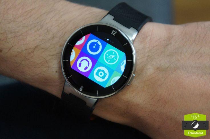 Test de l'Alcatel One Touch Watch, mi-montre, mi-tracker d'activités - http://www.frandroid.com/test/287298_test-de-lalcatel-one-touch-watch  #AlcatelOneTouch, #Montresconnectées, #Tests