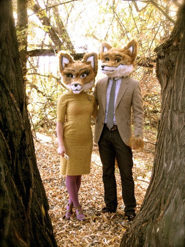 These Fantastic Mr. Fox Halloween costumes are so good.