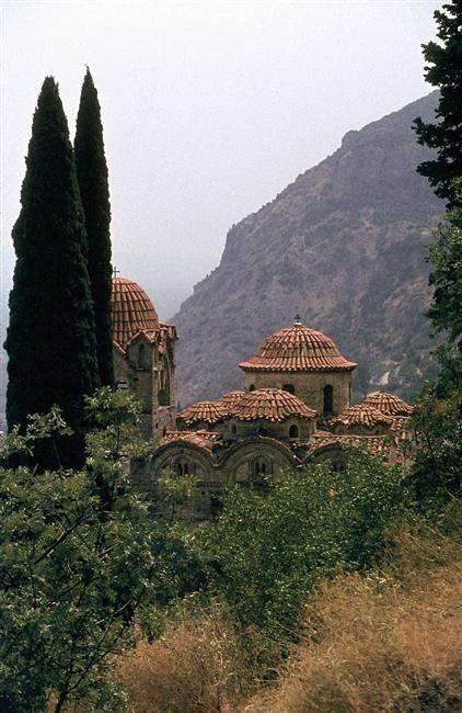 Monastère de Pandanassa (Mistra)