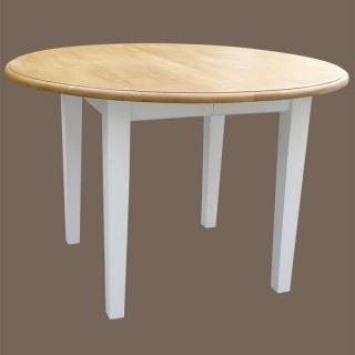 17 meilleures id es propos de table ronde bois sur for Table ronde laquee blanche avec rallonge