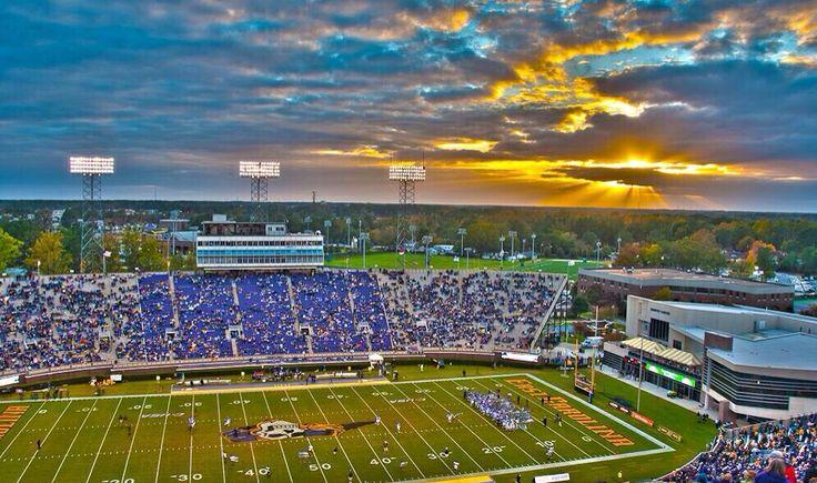 East carolina university football stadiums east
