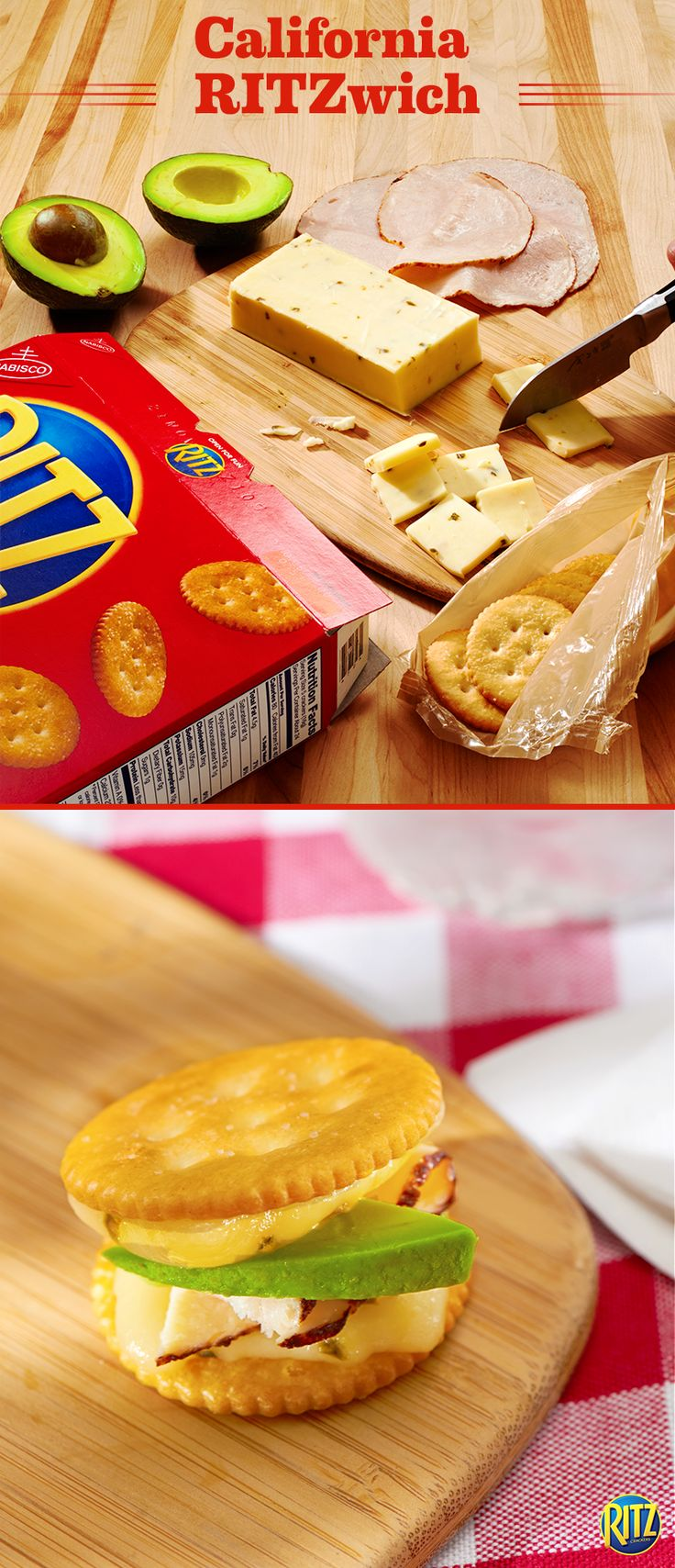 43 best ritzwiches images on pinterest ritz crackers relish bring a little spice to your snack spread these ritz cracker california style grilled solutioingenieria Gallery