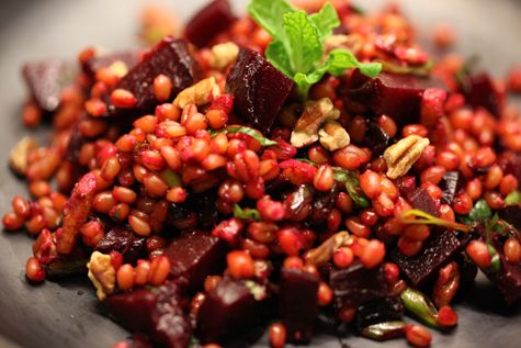 ... ok for brenden kale and wheat berry salad with charred onions see more