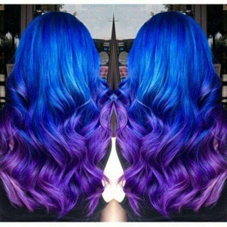 1000 Images About Blue Ombre Hair Styles Amp Extensions On