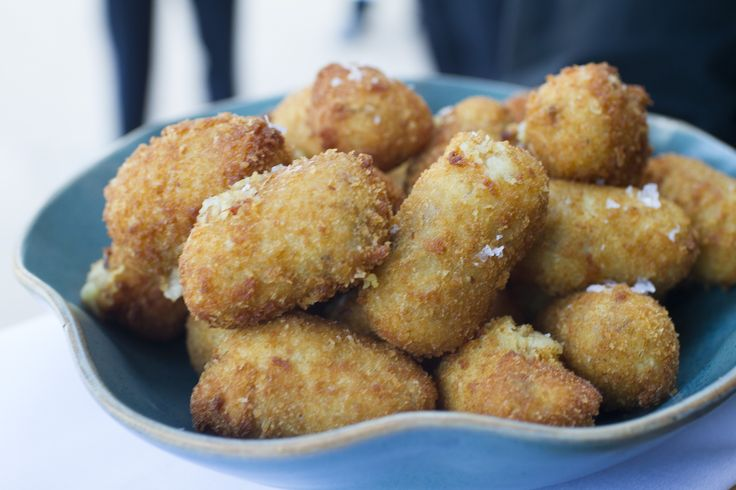 Chorizo and manchego cheese croquettes