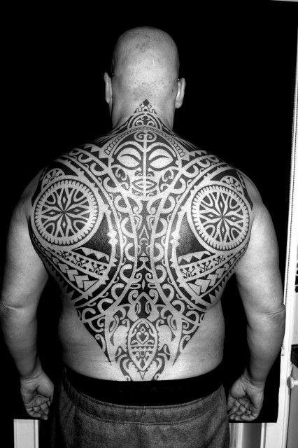 tahiti tattoo, polynesisch