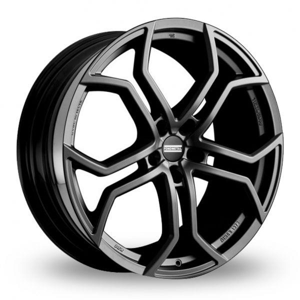 "Picture of 22"" Fondmetal 9XR Matt Titanium Alloy Wheels"