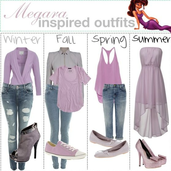 Winter, Fall, Spring, And Summer Outfits Inspired By