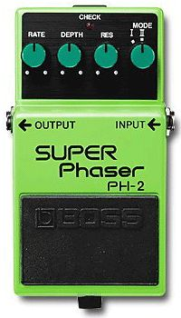 Boss Super Phaser guitar effect pedal