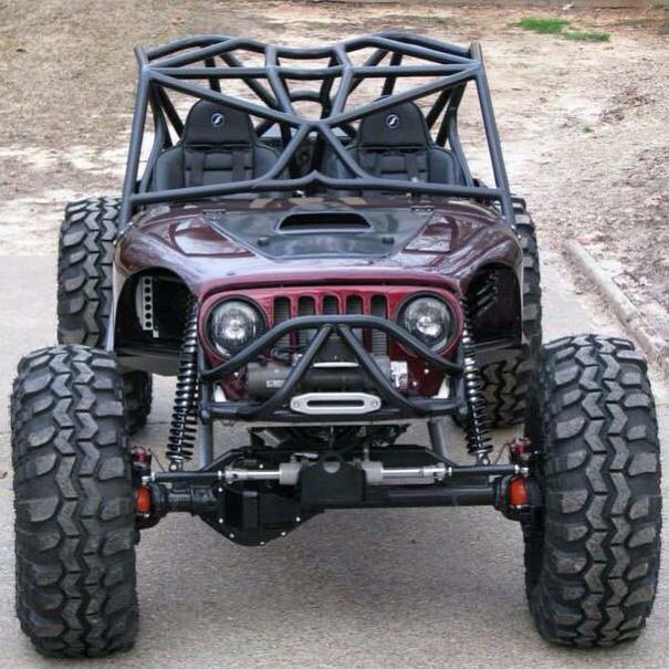 Okay this jeep is dope as hell. Whoever owns this should donate it to me...             for free!