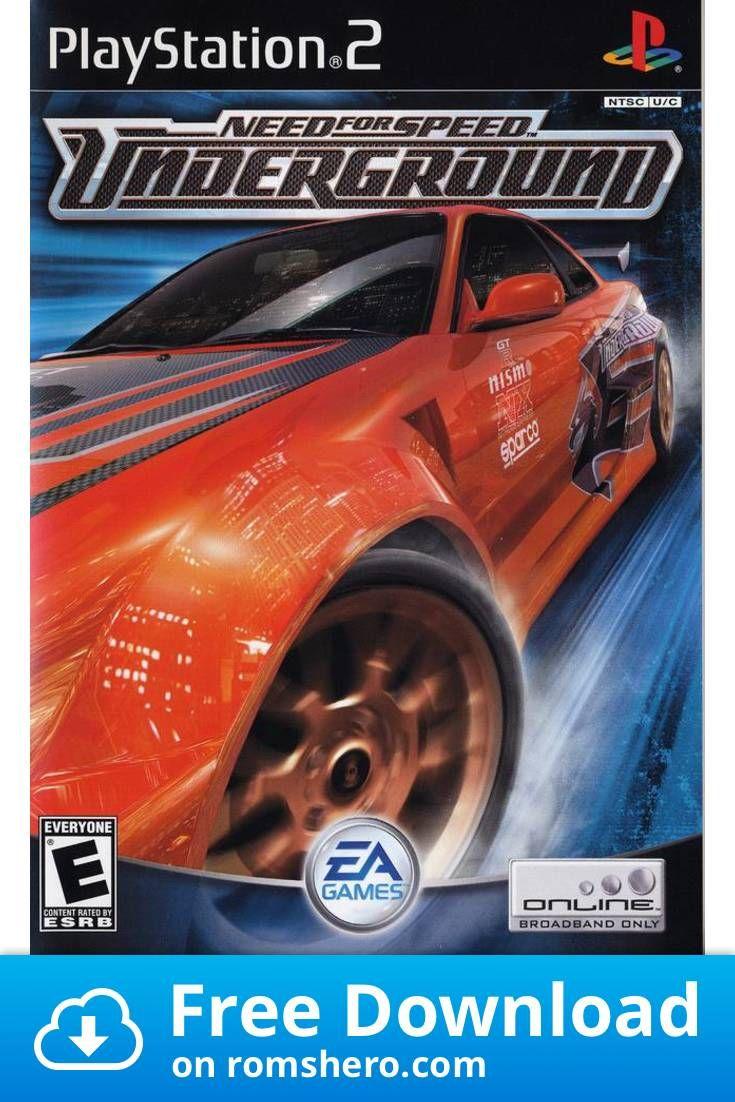Download Need For Speed Underground Playstation 2 Ps2 Isos Rom Need For Speed Gamecube Playstation