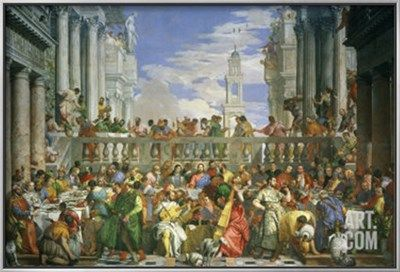 The Wedding at Cana Giclee Print by Paolo Veronese at Art.com