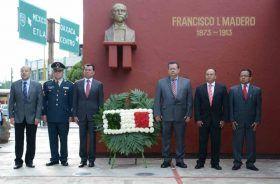 Conmemora Gobierno de Oaxaca CVI Aniversario del Inicio de la Revolución Mexicana