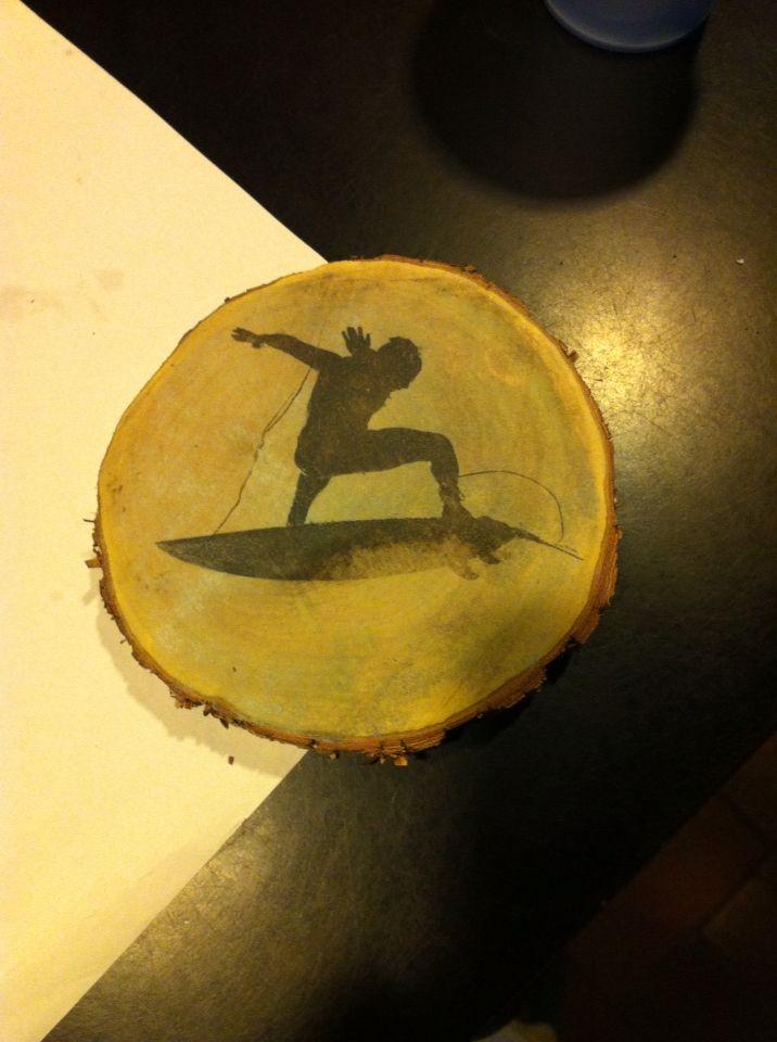 Printing on wood!