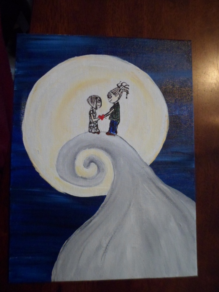my rendition.<3  acrylic on canvasRendition3 Acrylics, Canvas