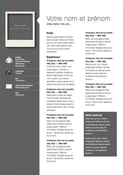 professional modern cv template for pages modern cv template and