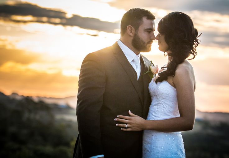 Bride & Groom + Sunset Preston Manor Salt Studios| Toowoomba Wedding and Commercial Photography