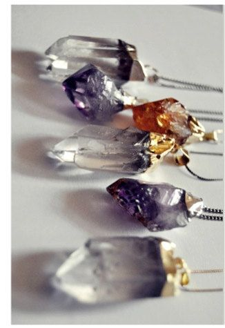 raw crystal pendulums #witchcraft
