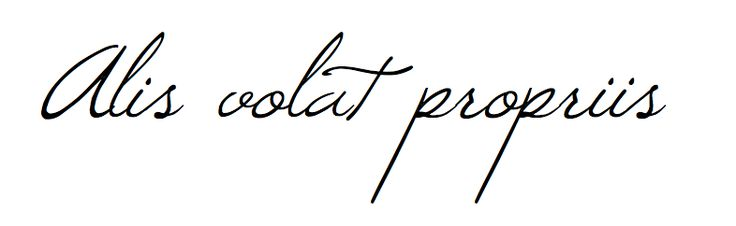 Alis volat propriis - She flies with her own wings - Oregon state motto