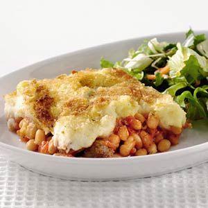 Recept - Ovenschotel witte bonen in tomatensaus - Allerhande