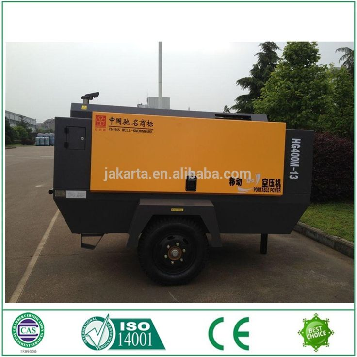 8KG 12 stere Portable diesel screw air compressor for sale mobile air compressor