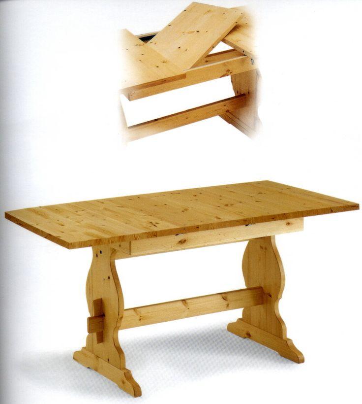 Oltre 1000 immagini su tavoli allungabili rustici - Tavoli allungabili rustici ...