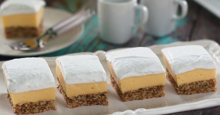 Valami nagyon habosra és nagyon vaníliakrémesre vágytam. Ezt hoztam össze. :) Hétvégi sütinek szántam, de cseppet sem vagyok benne bizt...