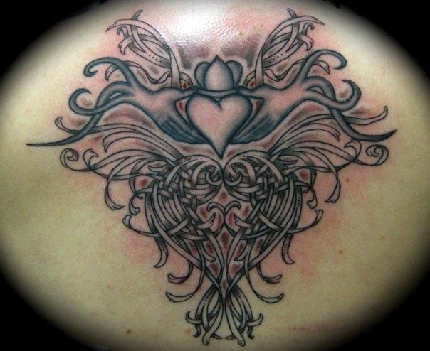 35 best claddagh tattoos images on pinterest celtic for Claddagh ring tattoo