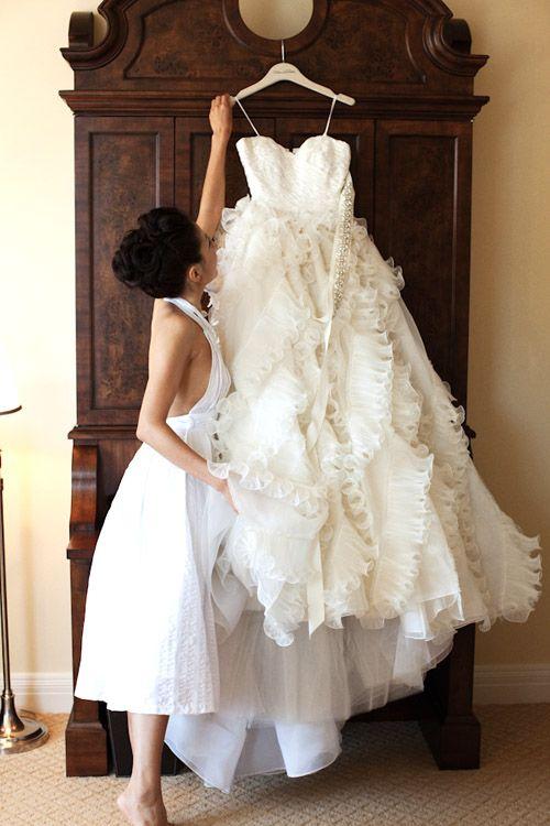 164 best wedding ideas images on pinterest short wedding for Used short wedding dresses