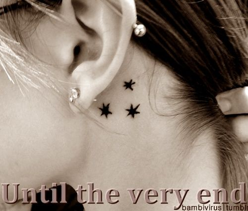 I want something behind my ear love it