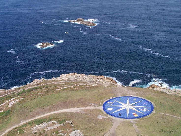 Torre de Hercules y Rosa de los vientos. A Coruña Galicia