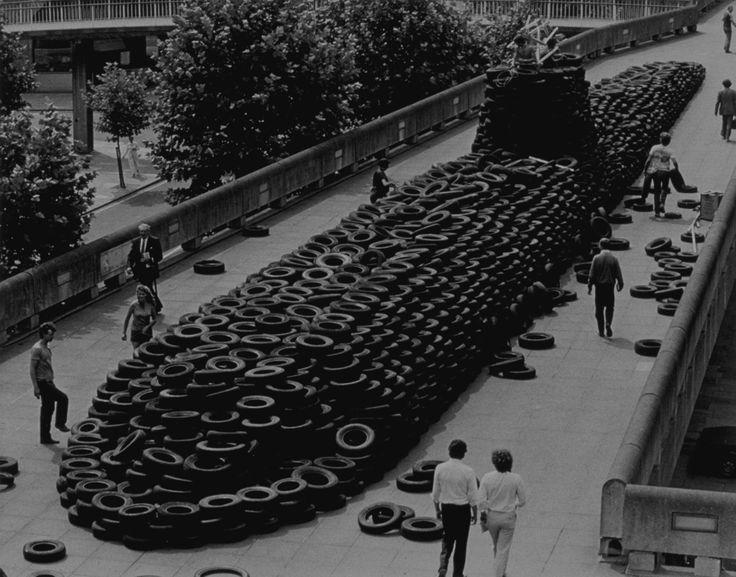 Polaris, Tyres, Southbank Centre, London 1983
