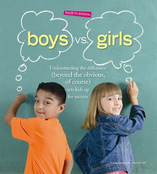 the difference between girls and boys Boys and girls learn differently for a very simple biological reason – their brains are built differently given, their differences, boys and girls.