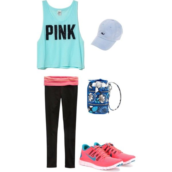 Working Out and Running Errands Outfit, created by melissamanor on Polyvore