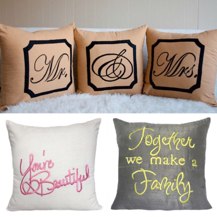 Looking for personalized monogram and quote pillows? Check out at The White Petals Decor