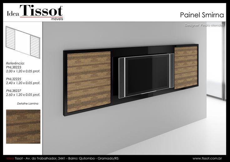 Panel Tv madera