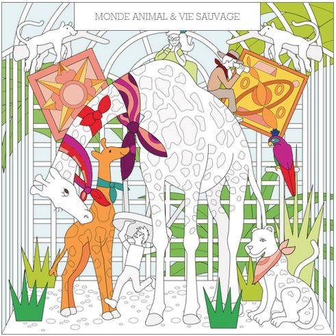 スカーフが集うバーチャルな家、エルメスの新ウェブサイト「メゾン・デ・カレ」の写真4