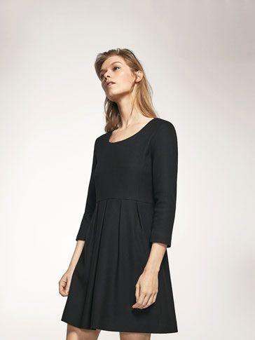 Vestidos y faldas de mujer de Massimo Dutti avance de primavera 2017. Faldas largas, plisadas y vestidos de fiesta, cortos, elegantes y camiseros.