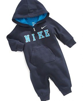 Nike Baby Boys' Fleece Coverall - Kids - Macy's