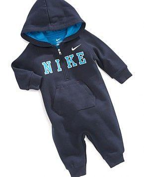 Nike Baby Boys' Fleece Coverall - Kids - Macy's
