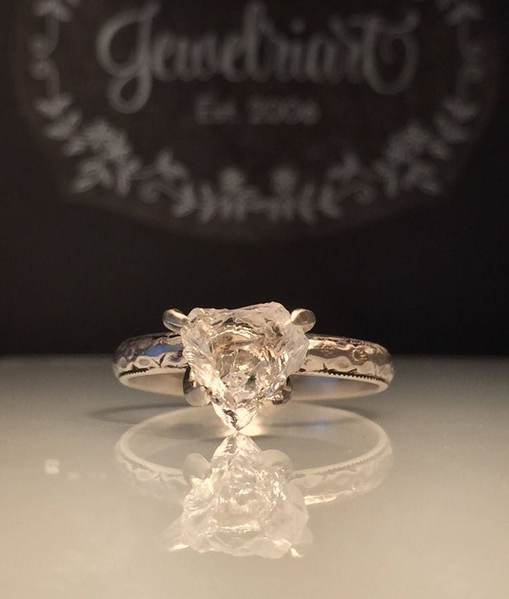 A personal favorite from my Etsy shop https://www.etsy.com/listing/517278804/raw-herkimer-diamond-ringgorgeous-rough