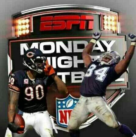 Its on tonight! MNF  12/9/13  Chicago Bears BEAT Dallas Cowboys                          45-28